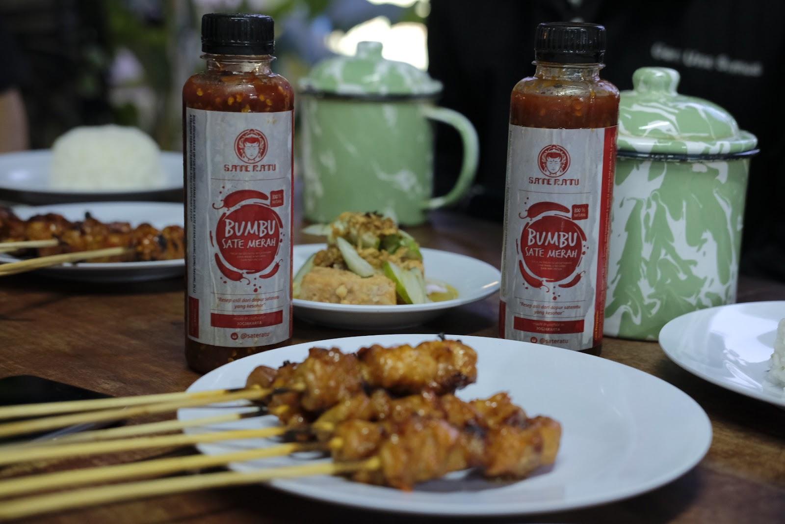 Sate Ratu Sate Ayam Favorit Bule Di Jogja Ardian Kusuma