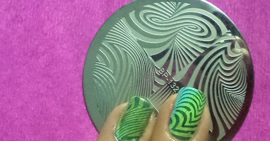 2568 born pretty store plate bp-132 abstract stamping nails