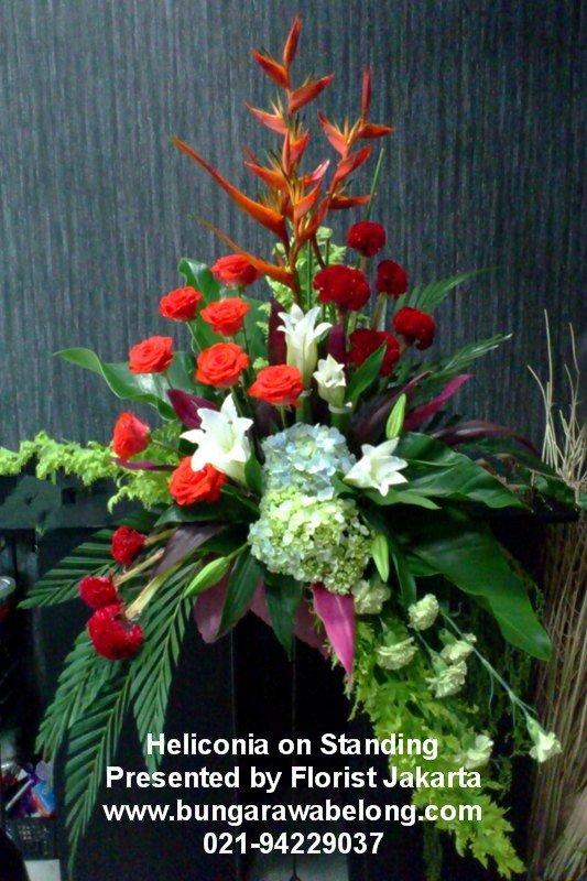Bunga Untuk di Sudut Ruangan  Toko Bunga by Florist Jakarta
