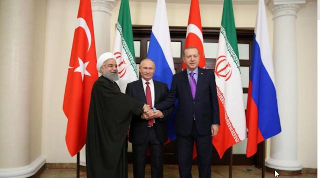 4 Nisan'da Türkiye-Rusya-İran zirvesi