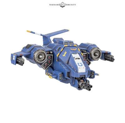 Stormhawk Interceptor Lobos Espaciales