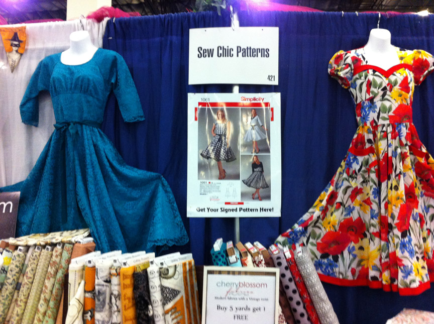 8adfedcad68 Sew Chic Pattern Company  ASG Conference 2015 San Diego review