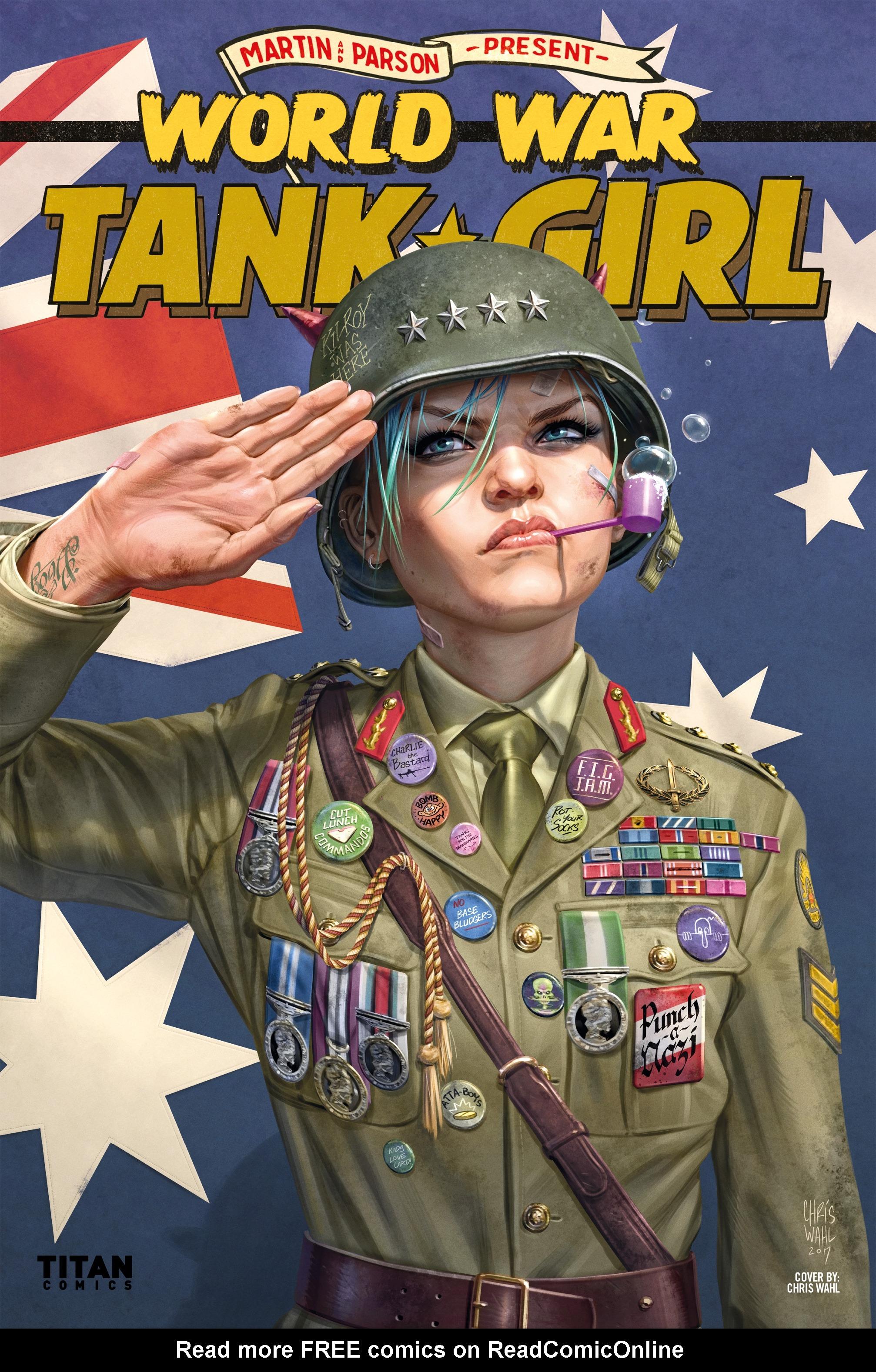 Read online Tank Girl: World War Tank Girl comic -  Issue #3 - 27
