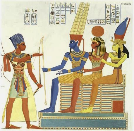 Amun, Khonsu and Mut