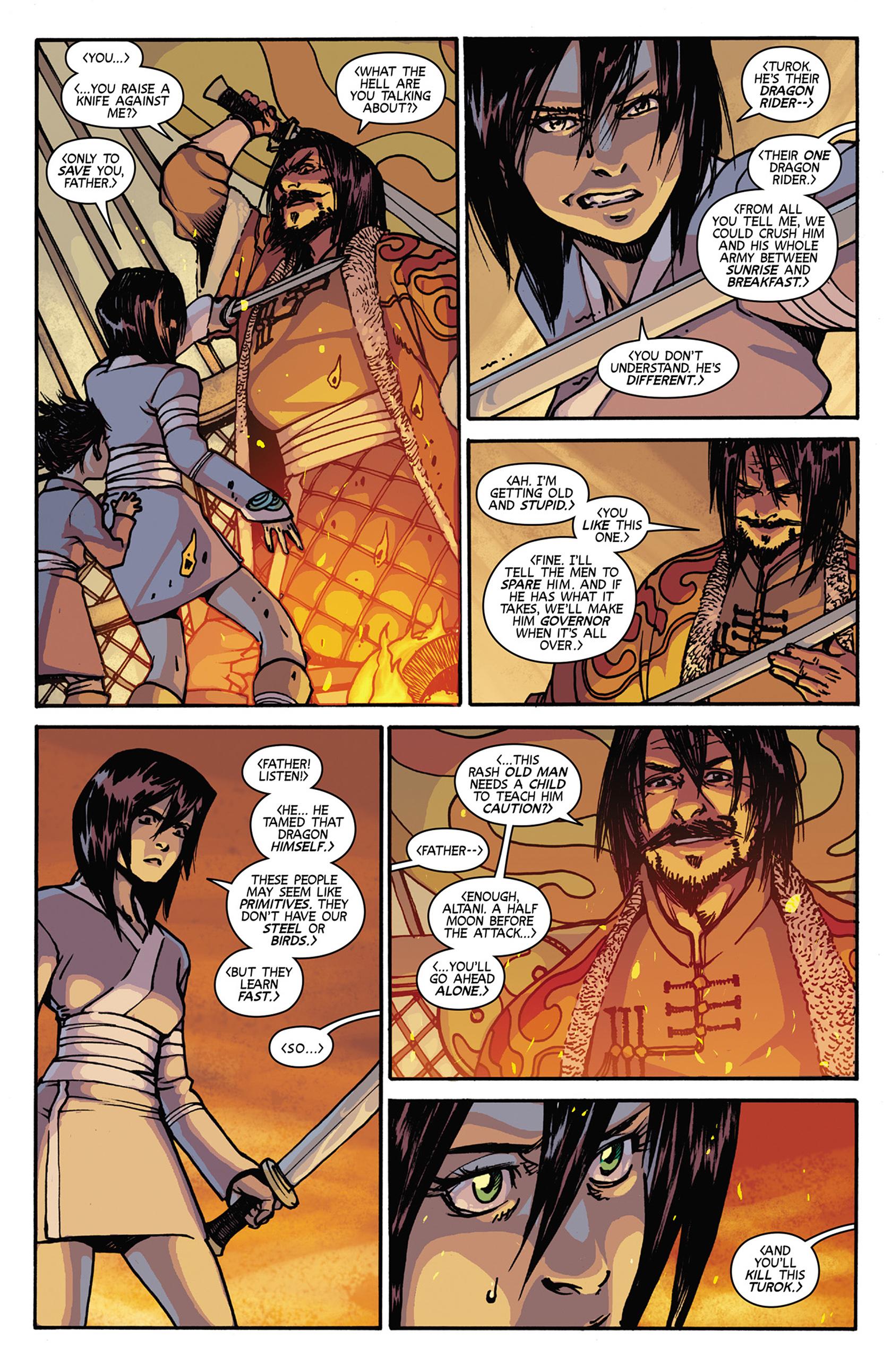 Read online Turok: Dinosaur Hunter (2014) comic -  Issue #7 - 14