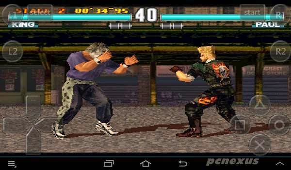 king vs paul in tekken 3 fpse