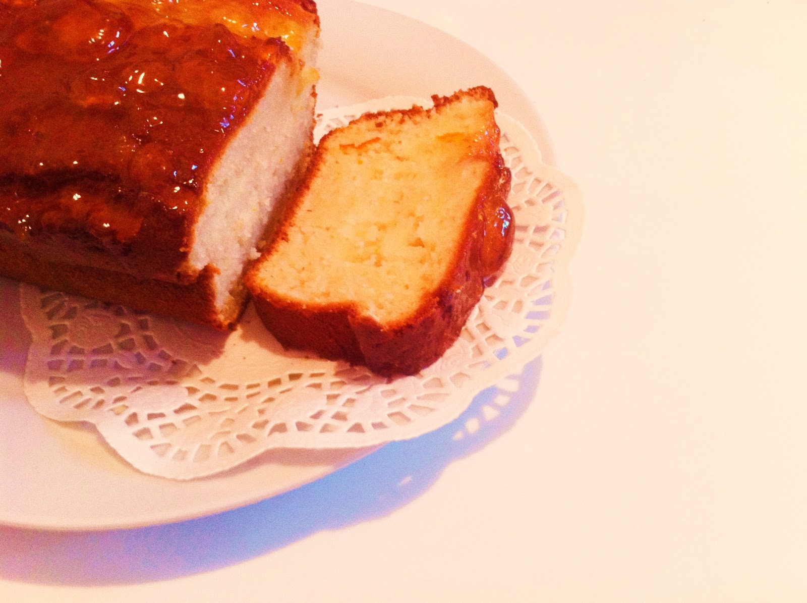 Marmalade Loaf Cake Recipes: My Gourmet Bites.: Yoghurt & Marmalade Loaf Cake