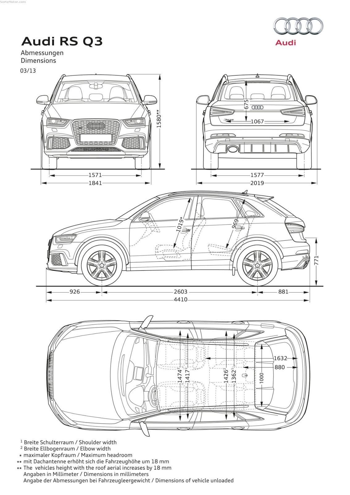 Revista Coche Todos Los Detalles Del Nuevo Audi Rs Q3