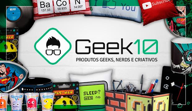Parceria/Recebidos Geek10 - Blog da Alzinete Rodrigues