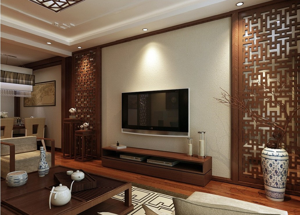 Dwell Of Decor: 18 TV Units Between 2 Wall Lines Designs