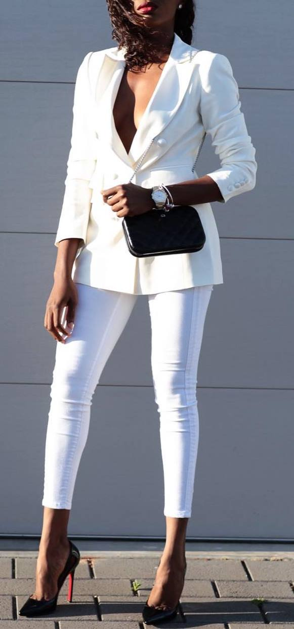 beautiful business style outfit