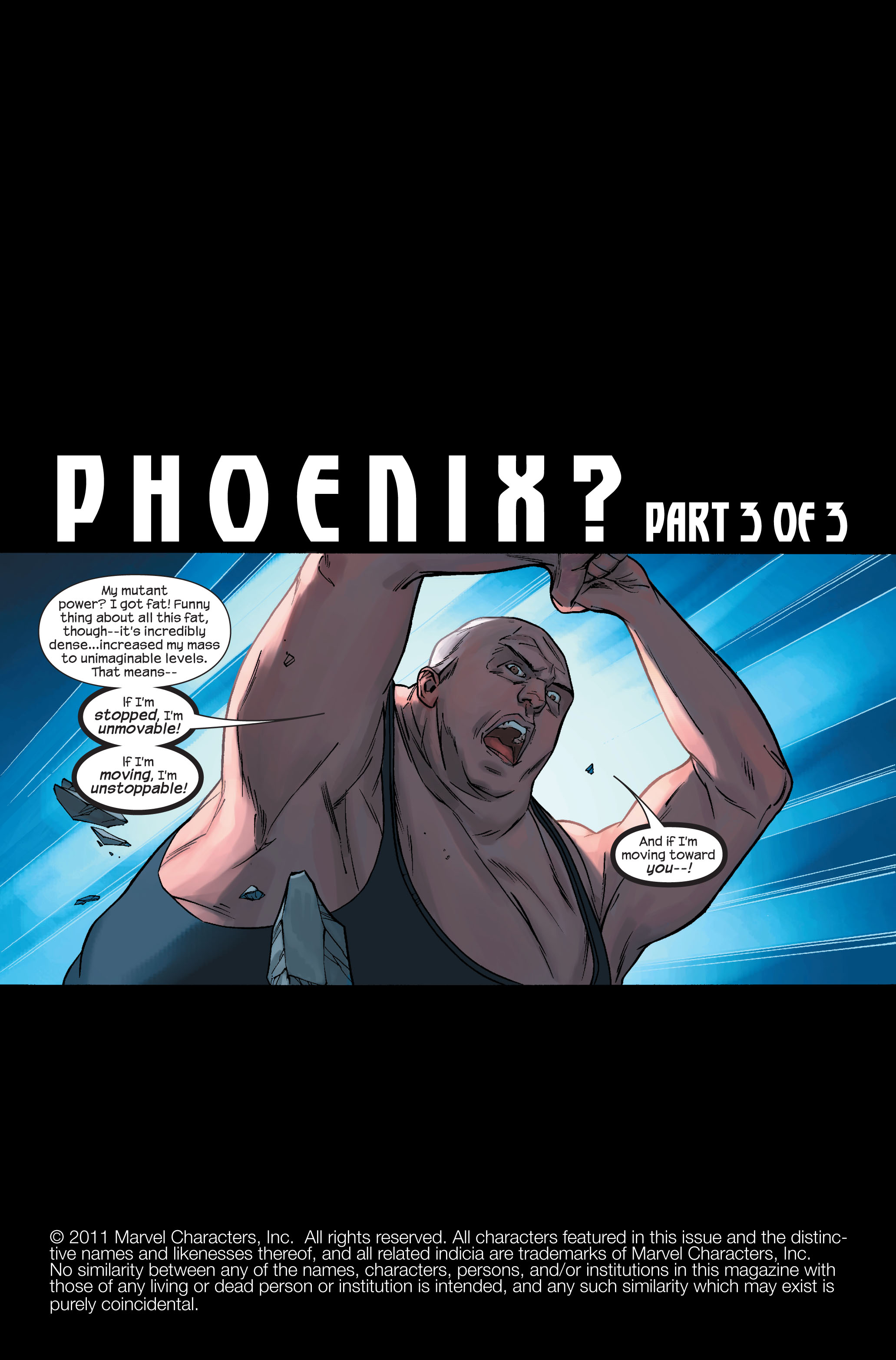 Read online Ultimate X-Men comic -  Issue #71 - 2