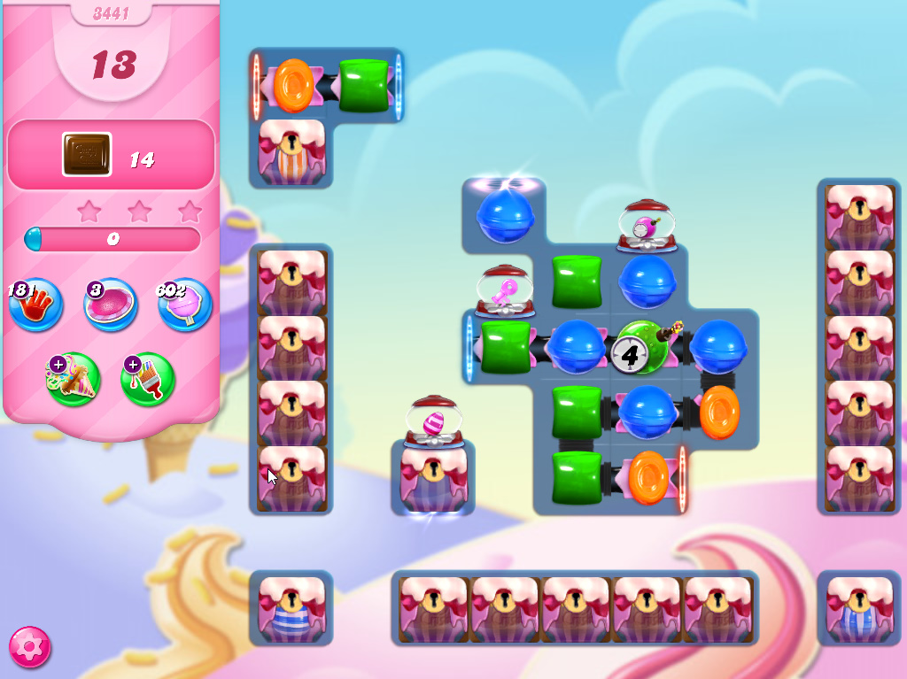 Candy Crush Saga level 3441