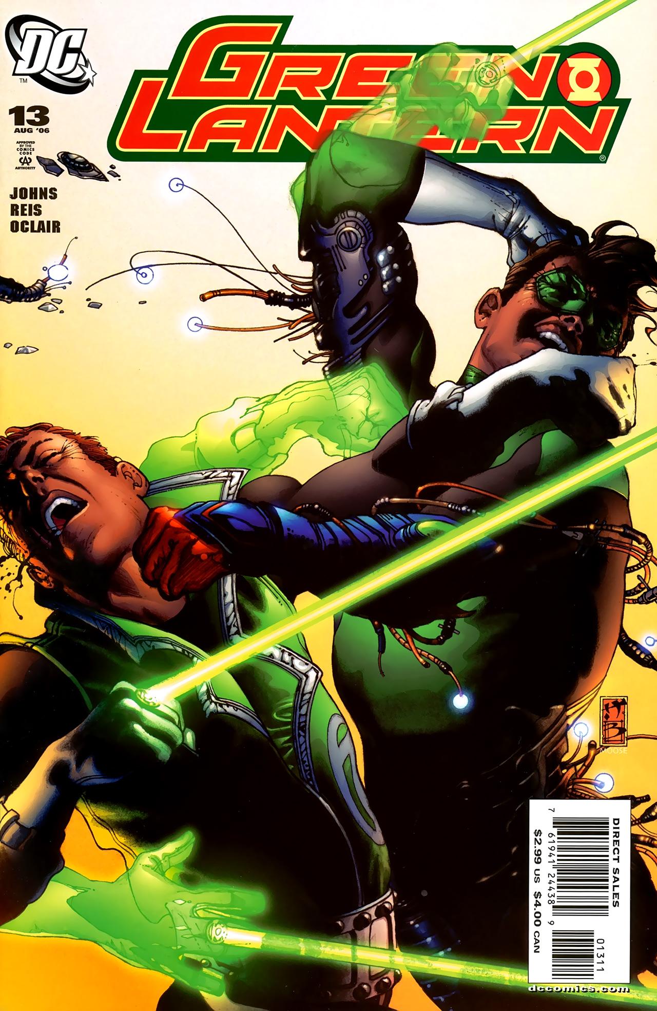 Green Lantern (2005) 13 Page 1