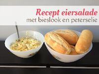 Recept eiersalade - met bieslook en peterselie