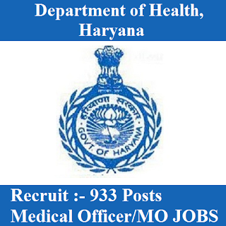 Health Department of Haryana, Haryana Health Dept., HR, Haryana, MO, Medical Officer, Graduation, freejobalert, Sarkari Naukri, Latest Jobs, haryana health dept. logo