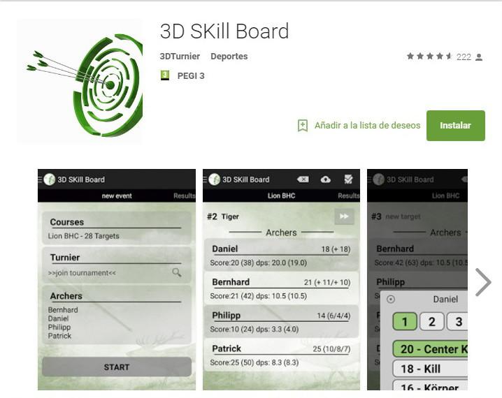 Apps tiro con arco | Club Indalarco - Almería