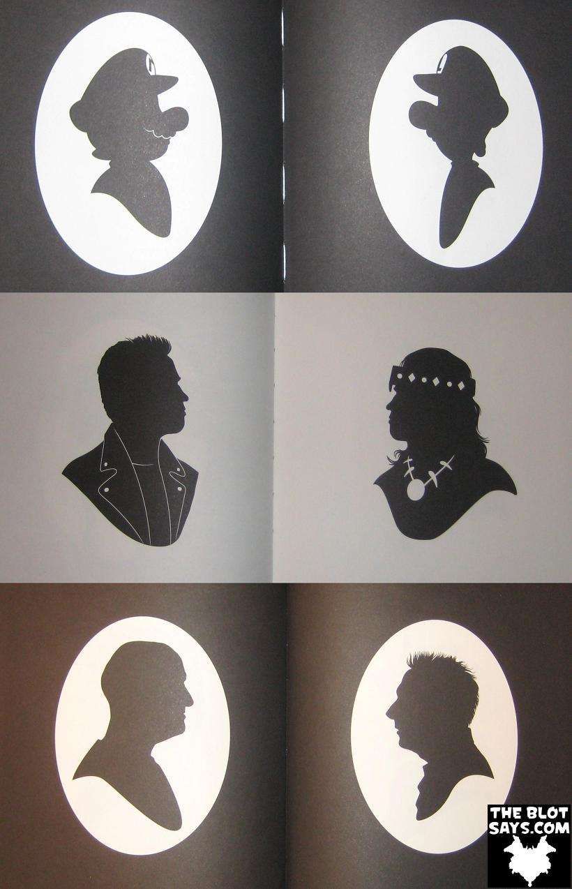 bd8a6f8e7 The Blot Says...: Book Review: Silhouettes From Popular Culture by ...