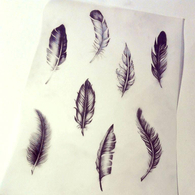 Tusz Pod Skórą Symbolika Pióra W Tatuażu