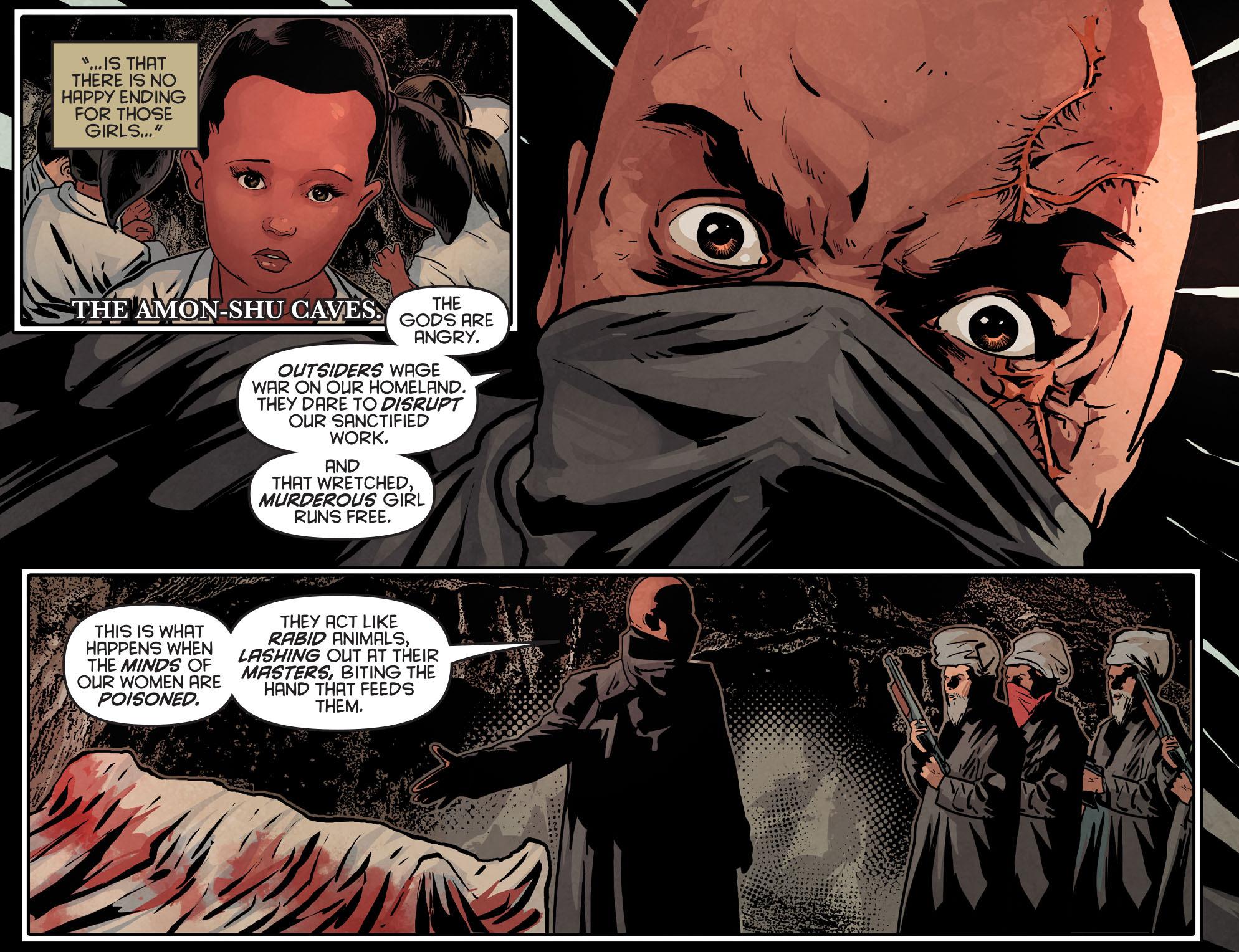 Read online Arrow: Season 2.5 [I] comic -  Issue #12 - 9