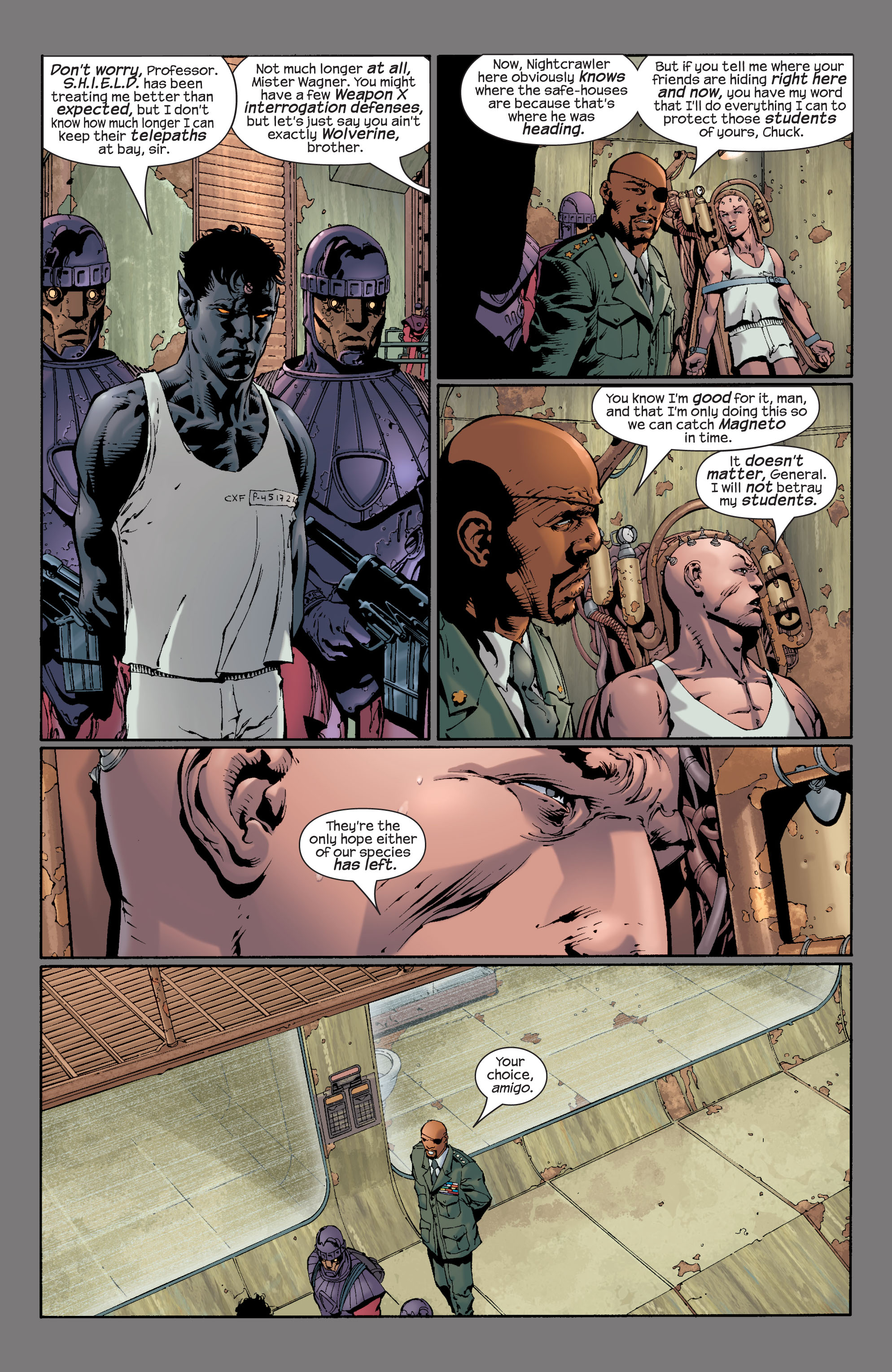 Read online Ultimate X-Men comic -  Issue #28 - 14