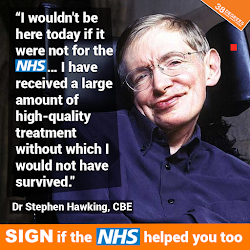 Save Our NHS - petition