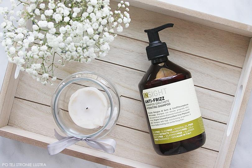 szampon insight anti-frizz widok z góry