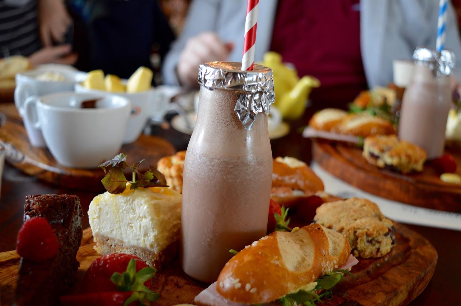 Italian style afternoon tea at Sorella Sorella in Gateshead