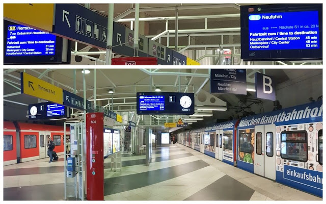 anden trenes s1 y s8 aeropuerto munich