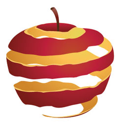 Dangers Red Apple Skin - How to Prevent