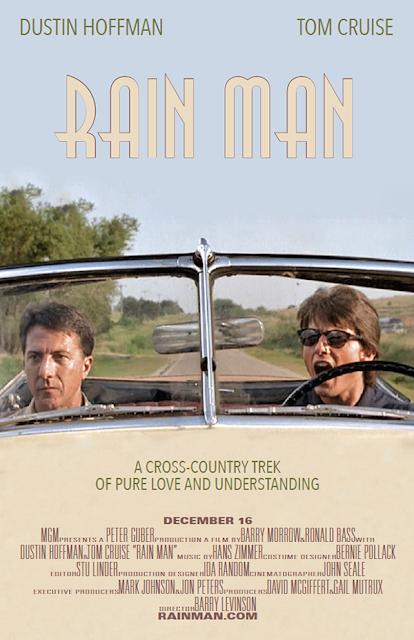 Póster película Rain Man