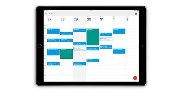 Google Calendar App For iPad