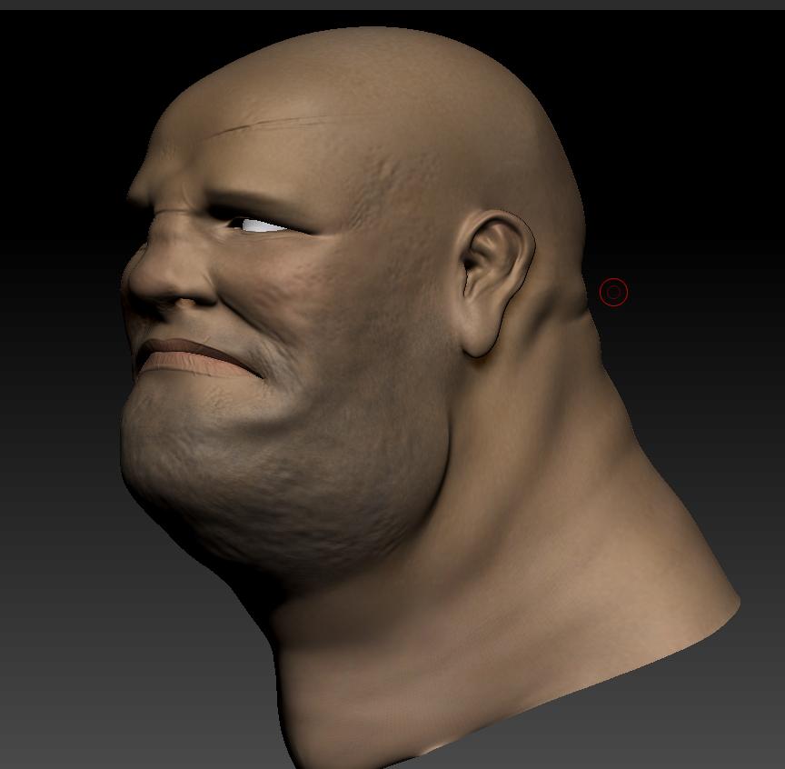 deformed face man - 864×846