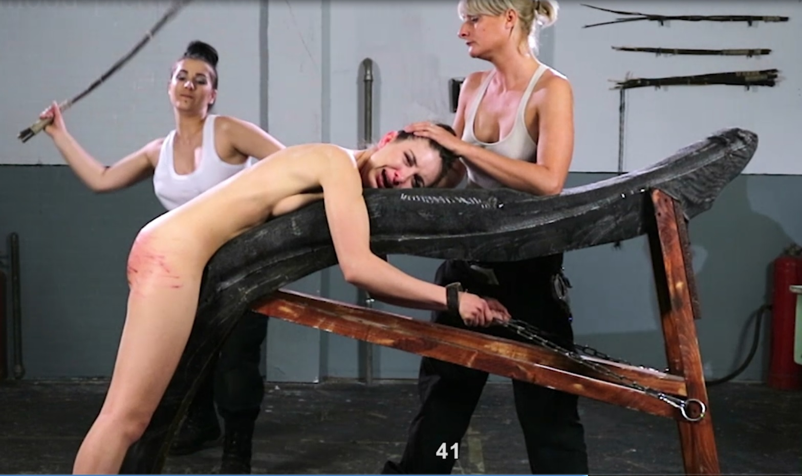 A taste of strict femdom and punishment 8
