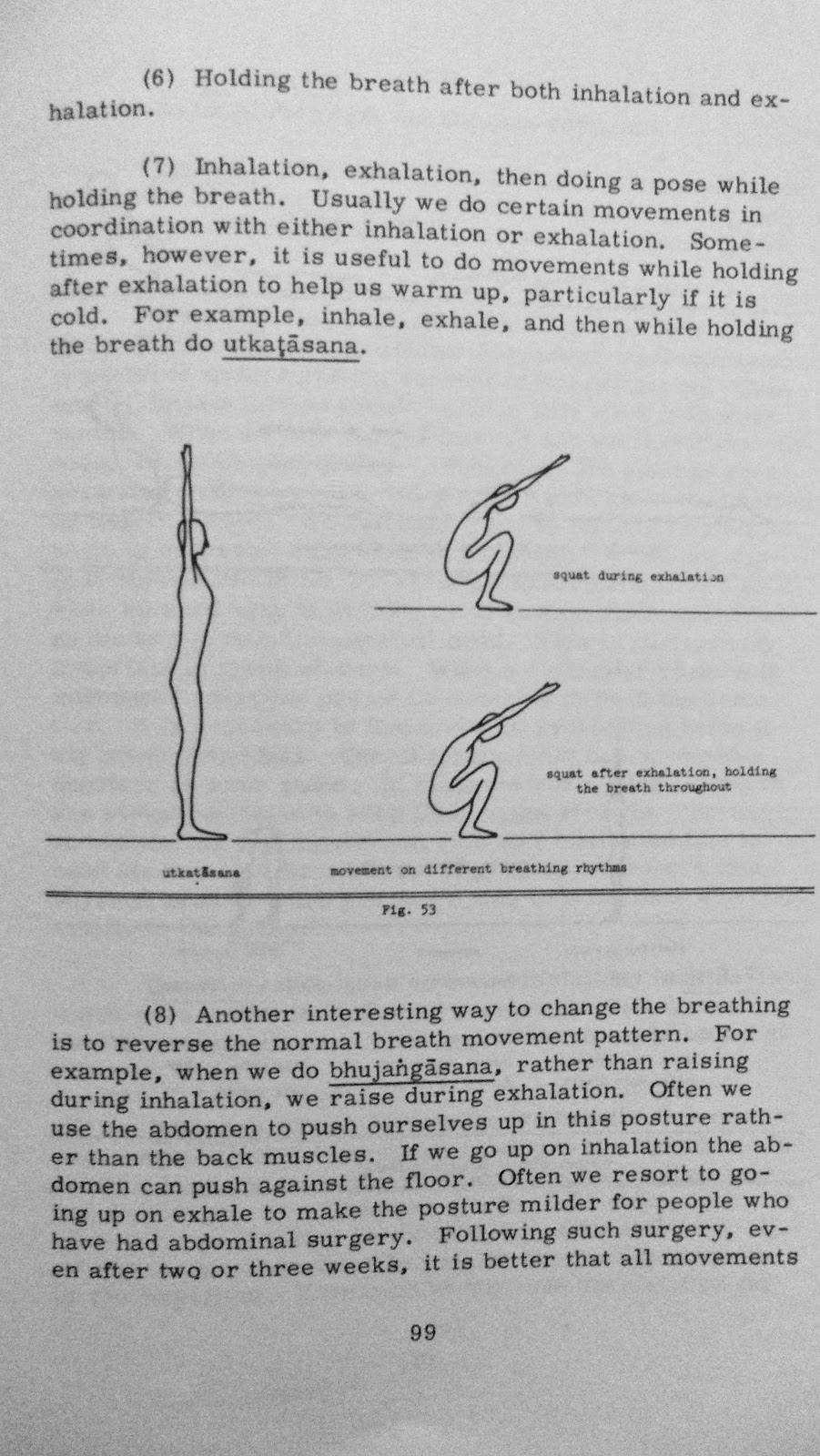 Krishnamacharyas Mysore Yogaat Home Using The Breath In Asana Inhalation And Exhalation Diagram Puraka To Link This With Something Interesting I Saw On Fb Morning Take A Look At Dedication Page First Edition Of Desikachars Book