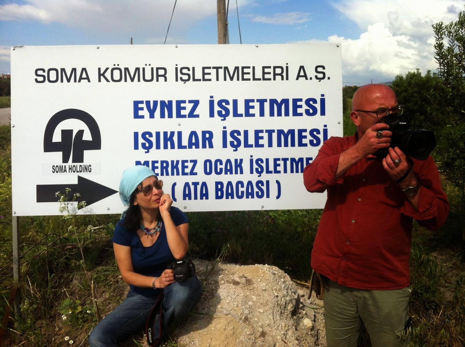 Hakan Kumuk Nur Banu Molla Soma maden faciası