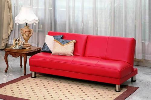 Sofa Bed Minimalis Warna Merah