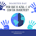 #DiabetesDay: Por que o azul é a cor da diabetes?