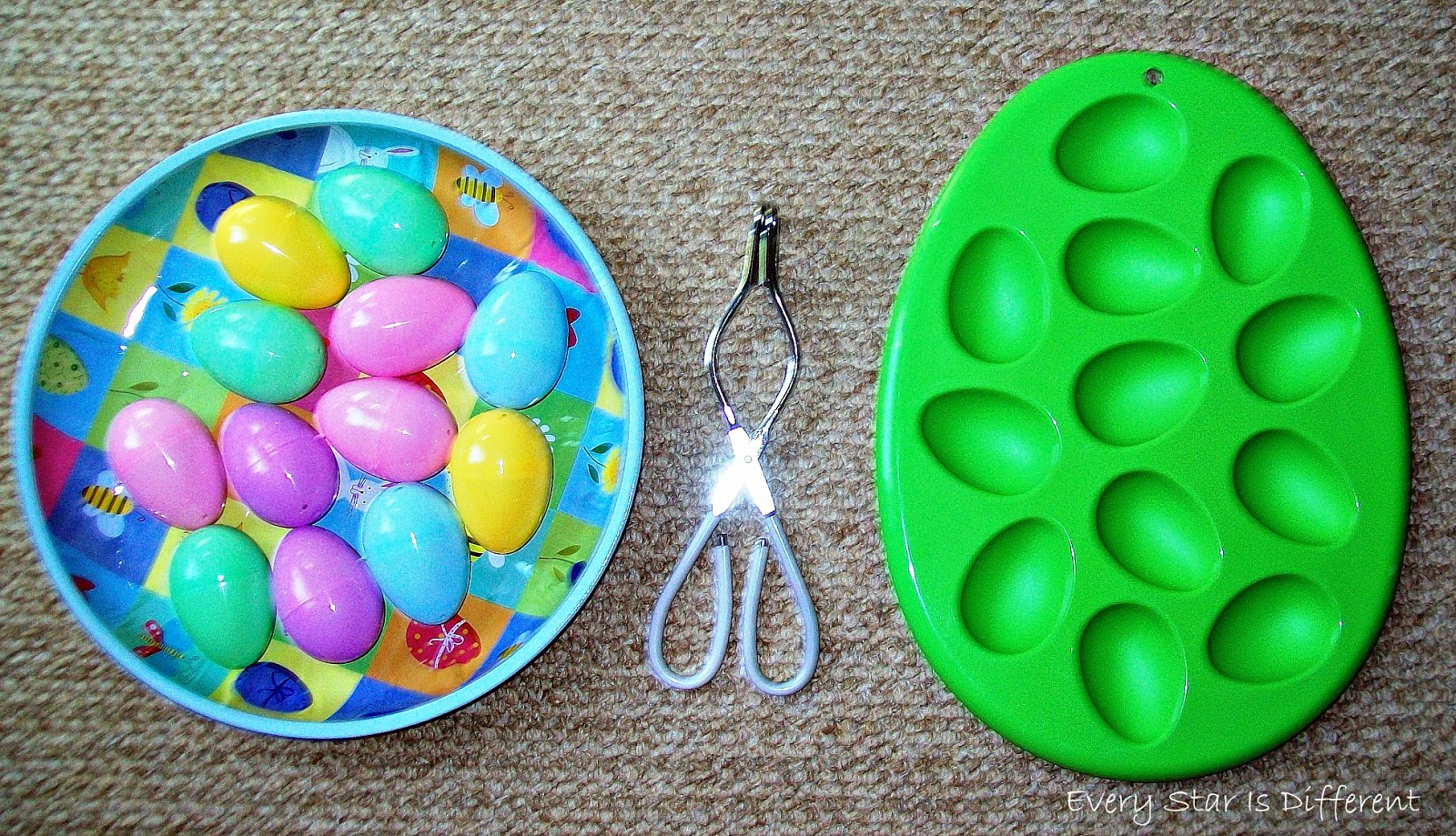 Transfferring eggs practical life/fine motor activity