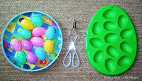 Transfferring eggs practical life/fine motor activity