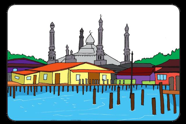 kehidupan budaya-brunei-darussalam