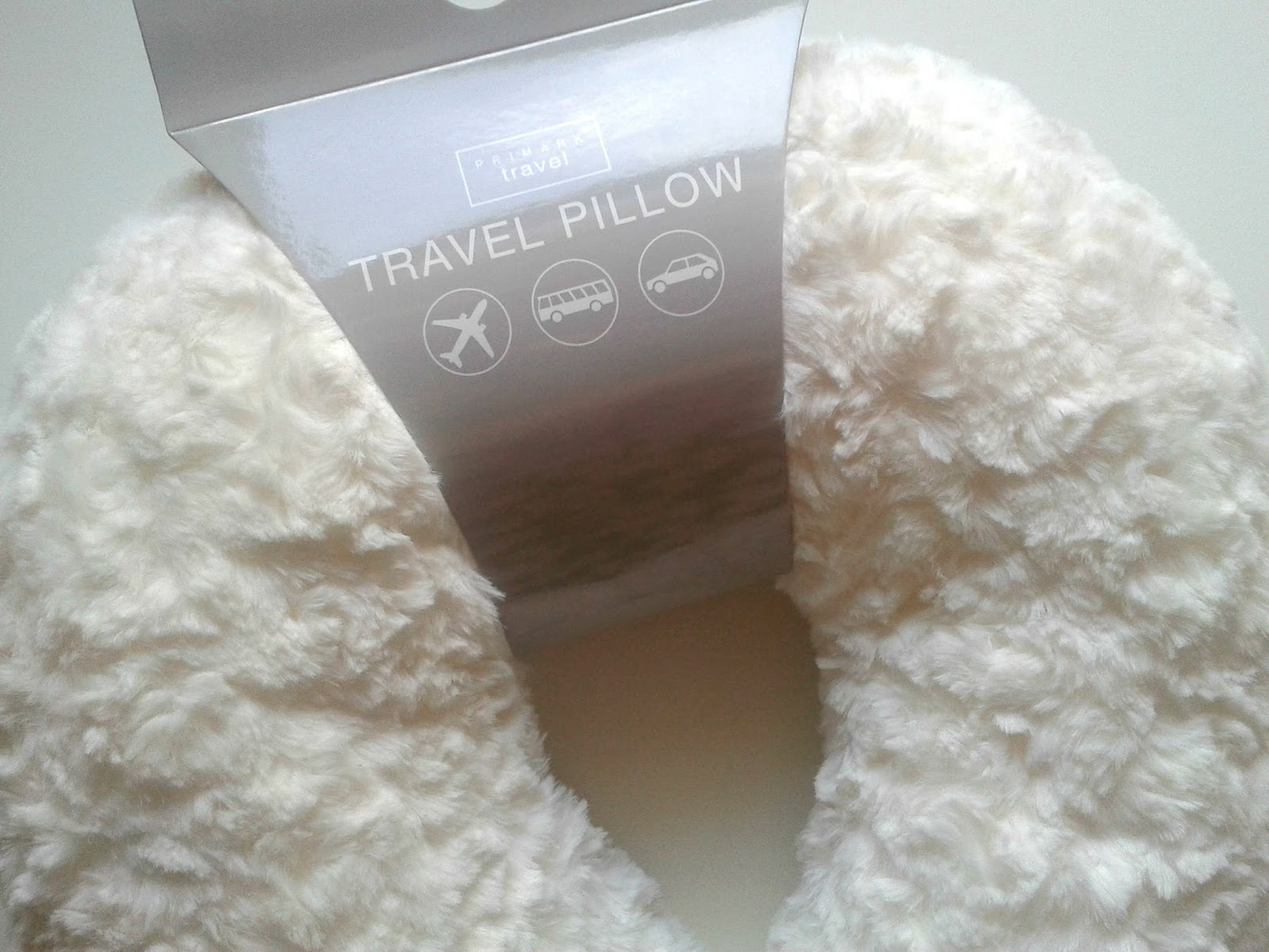 Primark Travel Pillow My Long Haul Flight Essentials Beauty Review