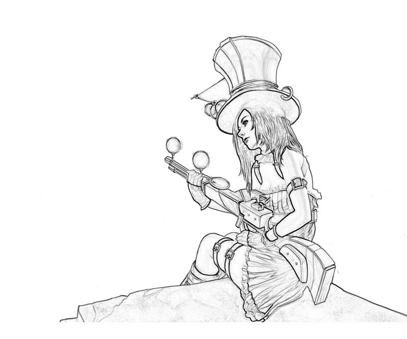 League of legends caitlyn ability how coloring for League of legends coloring pages