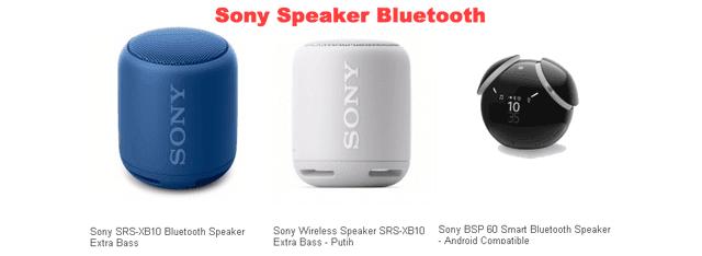 Sony Speaker Bluetooth