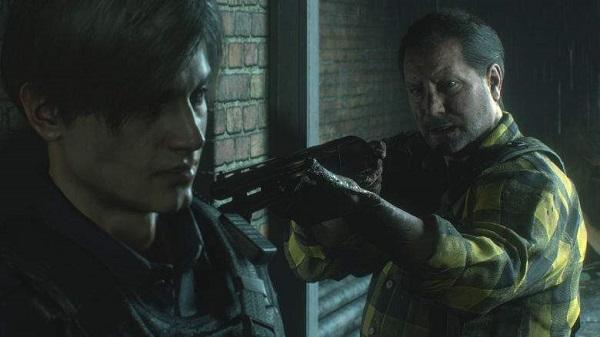 شاهد بالفيديو لأول مرة إستعراض شخصيات Hunk و Tofu داخل لعبة Resident Evil 2 و هذه حقيقة تواجدهم !