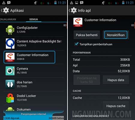 Cara Menghapus Aplikasi Asli Bawaan Android Mudah Tanpa Root
