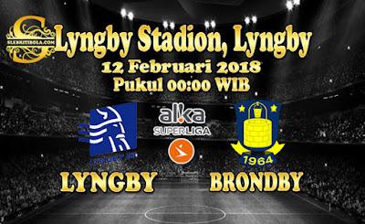 AGEN BOLA ONLINE TERBESAR - PREDIKSI SKOR DENMARK SUPERLIGA LYNGBY VS BRONDBY 12 FEBRUARI 2018