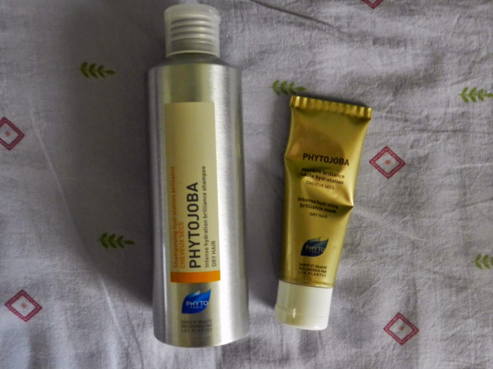 Phytojoba shampoo & leave in mask