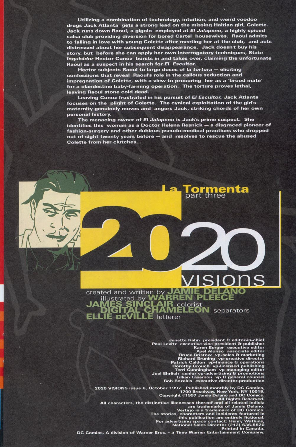 Read online 2020 Visions comic -  Issue #6 - 2
