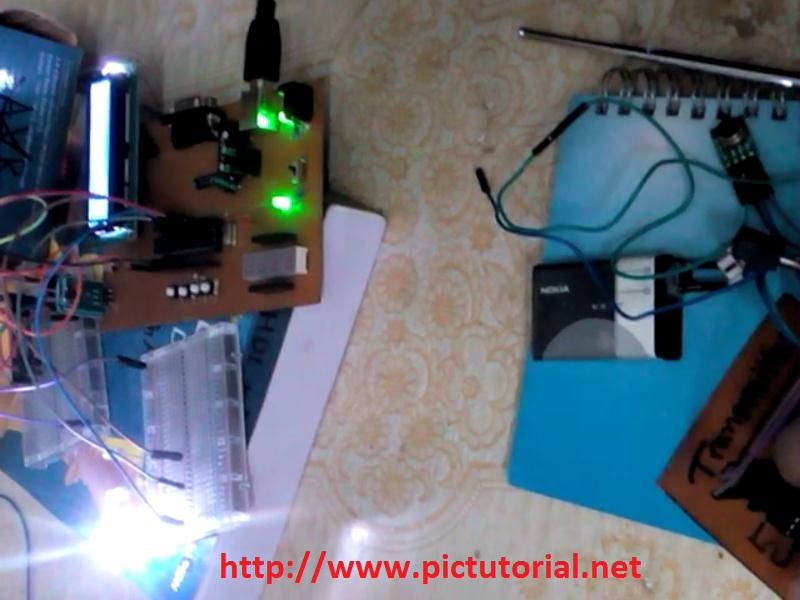 RF (433 MHz) Module Controlled LED Switching Project using